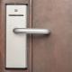 Digital handle card door lock , security system